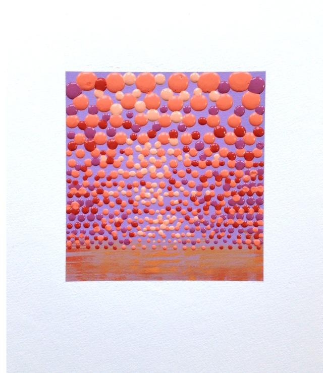 Study 5, acrylic on paper 15x11